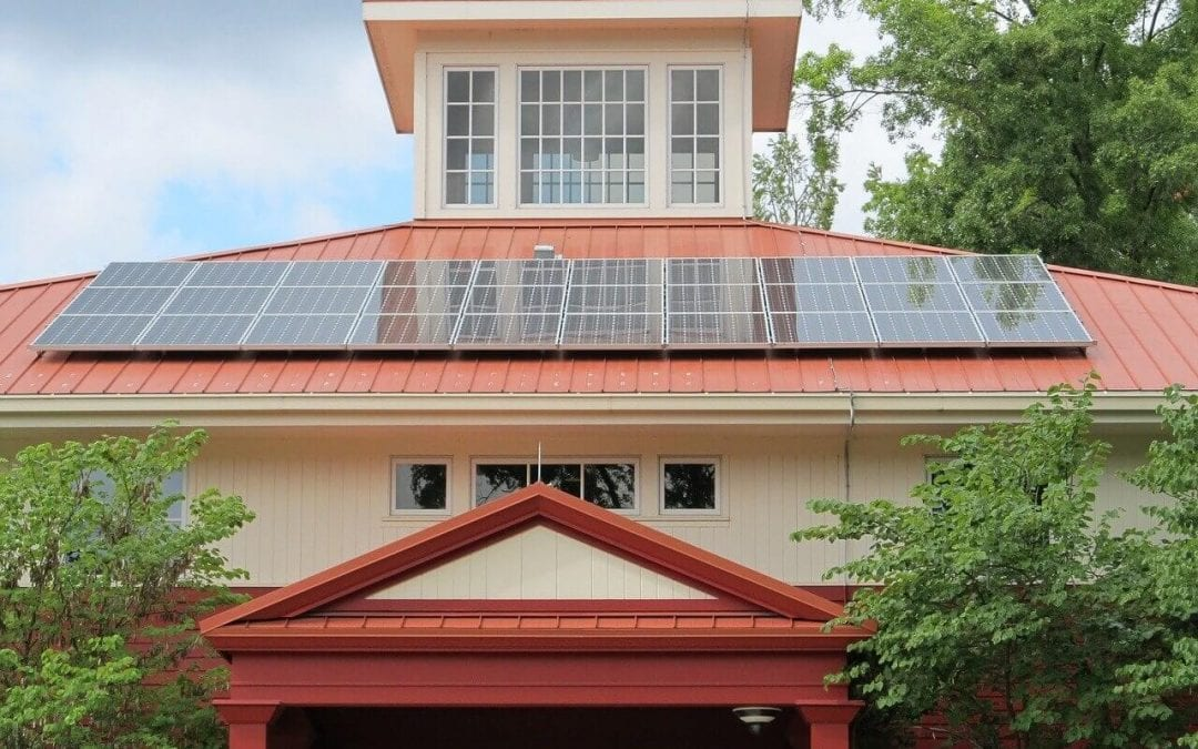 heat your home efficiently with solar panels