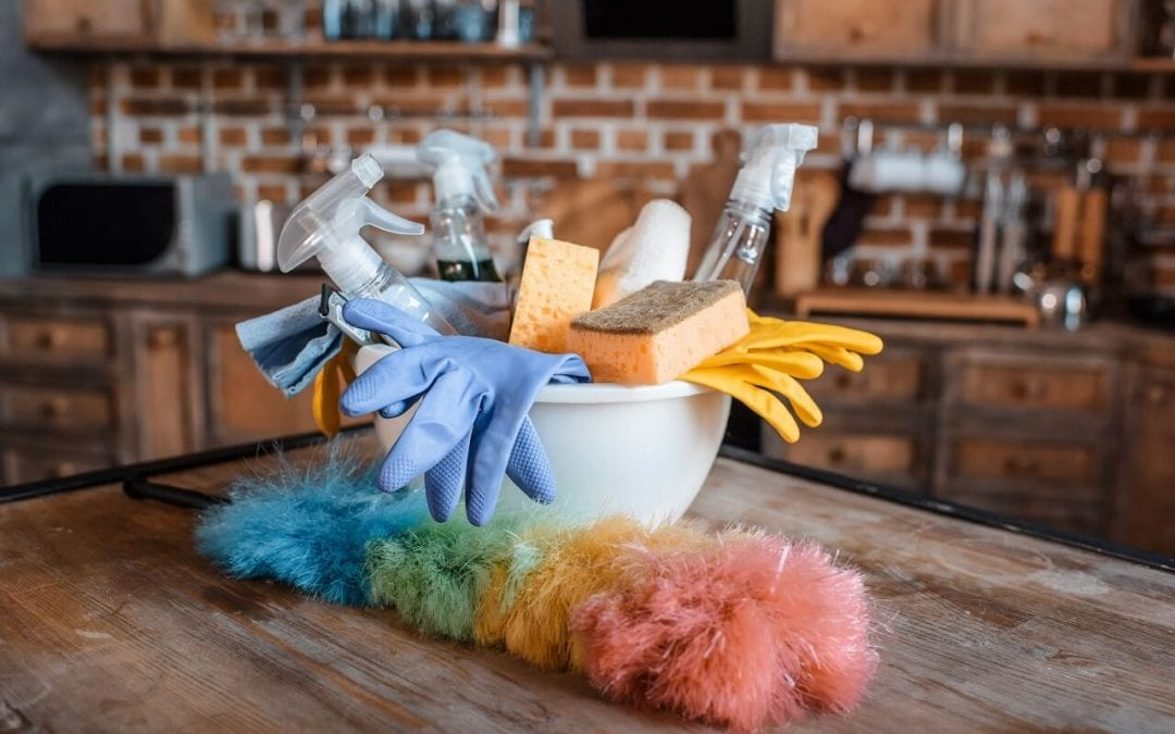 keep a healthy and safe home with regular cleaning